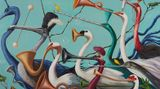 Contemporary art exhibition, Joanna Braithwaite, Hullabaloo at Martin Browne Contemporary, Sydney, Australia