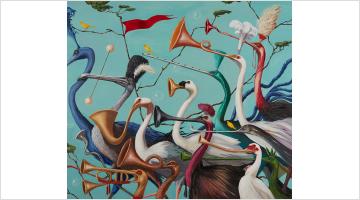 Contemporary art exhibition, Joanna Braithwaite, Hullabaloo at Martin Browne Contemporary, Sydney