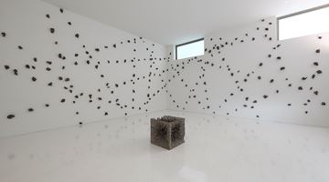 Contemporary art exhibition, Shigeo Toya, Body of the Gaze 視線体 at ShugoArts, Tokyo, Japan