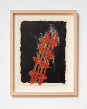 Ladder and Step Series #7 by Basil Beattie contemporary artwork