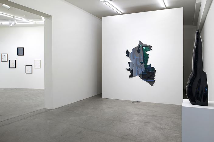 Exhibition view: Not Vital, Che fasch ?,Galerie Urs Meile, Lucerne (12 September–2 November 2019). Courtesy Galerie Urs Meile.