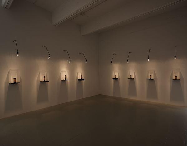 Exhibition view: Piero Manzoni, Lines, Hauser & Wirth, 22nd Street, New York (25 April–26 July 2019).© Fondazione Piero Manzoni, Milan. Courtesy the artist and Hauser & Wirth. Photo: Thomas Barratt.