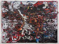Q7 by Mark Bradford contemporary artwork painting, mixed media