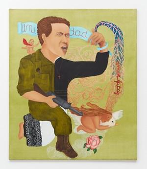 Camilo Torres by Cecilia Vicuña contemporary artwork
