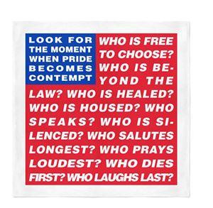 Untitled (Flag) by Barbara Kruger contemporary artwork