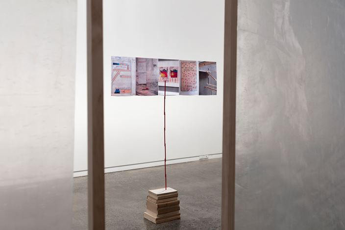 Exhibition view, Paul Cullen, Provisional Arrangements, 2017 at Two Rooms, Auckland. Courtesy Two Rooms, Auckland.