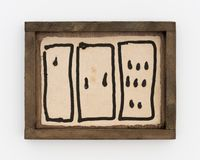 1971 - 1971 (3 box) by Alvaro Barrington contemporary artwork painting, works on paper