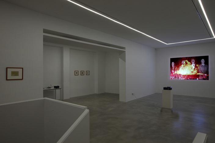 Exhibition view: Tony Oursler, Le Volcan, Poetics Tattoo & UFO, Dep Art Gallery, Milan (6 April–1 June 2019). Courtesy Dep Art Gallery.
