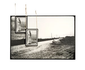 Solitary Car by Manal AlDowayan contemporary artwork