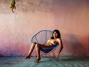 Reclining Nude, Oaxaca de Juárez by Pieter Hugo contemporary artwork