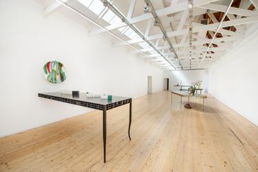 Exhibition view: The Long Table, SMAC Gallery, Stellenbosch (18 September-16 October 2021). Courtesy SMAC Gallery.