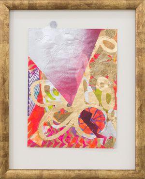 kimono hill (exploded book: French Painting) by Miranda Parkes contemporary artwork