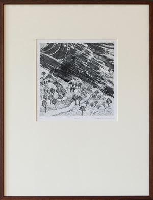 Storm by Mrinalini Mukherjee contemporary artwork print