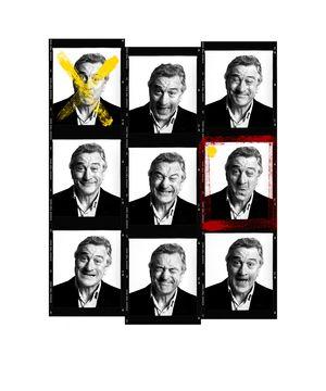 Robert De Niro Contact Sheet by Andy Gotts contemporary artwork photography, print