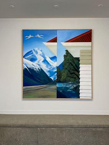 Exhibition view: Ian Scott, 5 Paintings 1966–1970, Hamish McKay Gallery, Wellington (10–24 October 2020). Courtesy Hamish McKay Gallery.