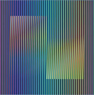 Color Aditivo betzaida B1 by Carlos Cruz-Diez contemporary artwork