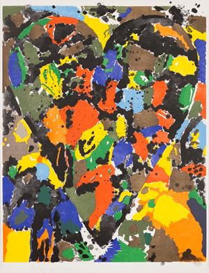 Remembering Wallace Ting by Jim Dine contemporary artwork print