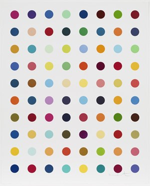 Gly-Gly-Ala by Damien Hirst contemporary artwork