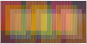 Physichromie n°1879 by Carlos Cruz-Diez contemporary artwork
