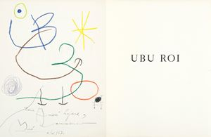 Ubu Roi by Joan Miró contemporary artwork
