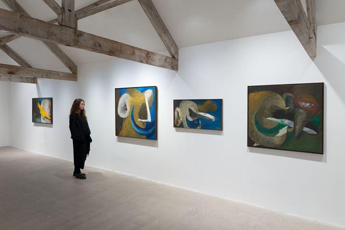 Exhibition view: Lee Lozano, Hauser & Wirth, Somerset (3 October 2020–10 January 2021). ©The Estate of Lee Lozano. Courtesy Hauser & Wirth.Photo: Ken Adlard.