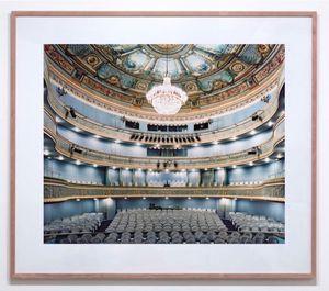 Théâtre de Montansier Versailles IV 2007 by Candida Höfer contemporary artwork