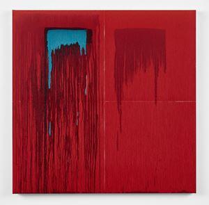 Considering Rothko #9 by Pat Steir contemporary artwork