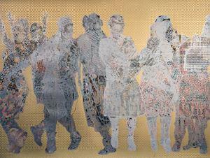 Frieze #12 by Aziz + Cucher contemporary artwork