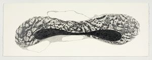 The Sound of Water 1 by Manisha Parekh contemporary artwork works on paper, drawing