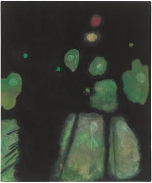 Untitled (Kauai Green) by Mayo Thompson contemporary artwork