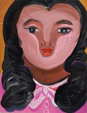 Standing Girl by Aki Kondo contemporary artwork