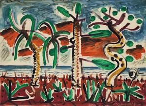 Resurrection series (grass) by Jyothi Basu contemporary artwork