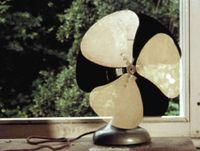 Fan by John Smith contemporary artwork moving image