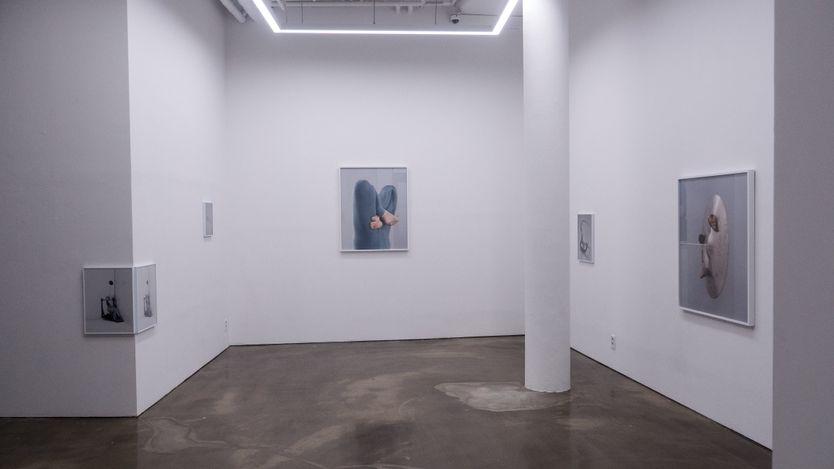 Exhibition view: Minji Yi,Ghost Moon, Gallery Chosun, Seoul (24 June–9 July 2021). Courtesy Gallery Chosun.