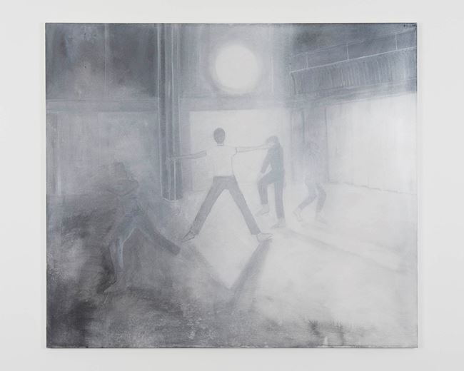 Moontrail (Trio A) by Silke Otto-Knapp contemporary artwork