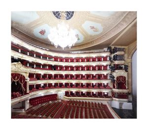 Bolshoi Teatr Moskwa III by Candida Höfer contemporary artwork