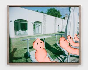 Florida, 1989 by Lucas Blalock contemporary artwork