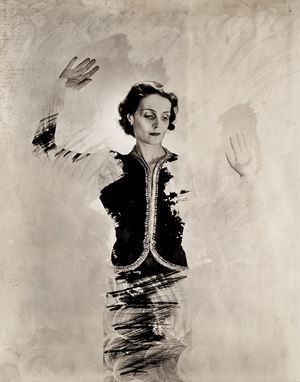 Cora Caetani by Cecil Beaton contemporary artwork