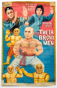 The 18 Bronx Men by Bright Obeng contemporary artwork painting
