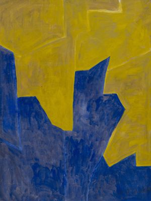 Composition Abstraite by Serge Poliakoff contemporary artwork