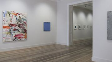 Contemporary art exhibition, Joseph Marioni, Michael Toenges, Peter Tollens, Three Painters at Galerie Albrecht, Berlin, Germany