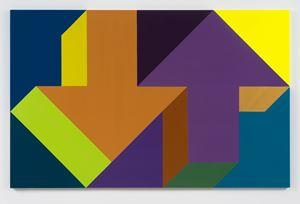 Arrow Painting 64 by Tony Tasset contemporary artwork