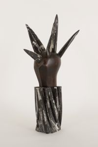 Irokese by Daniel Spoerri contemporary artwork sculpture