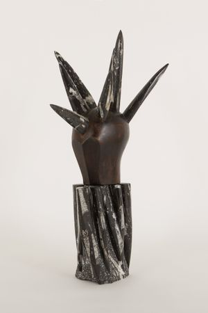 Irokese by Daniel Spoerri contemporary artwork