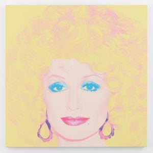 Dolly Parton by Andy Warhol contemporary artwork