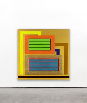 Impulse by Peter Halley contemporary artwork