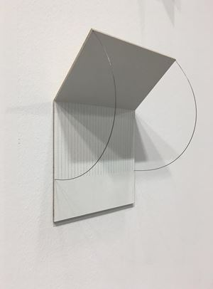 Folding Drawing #17 by Jong Oh contemporary artwork