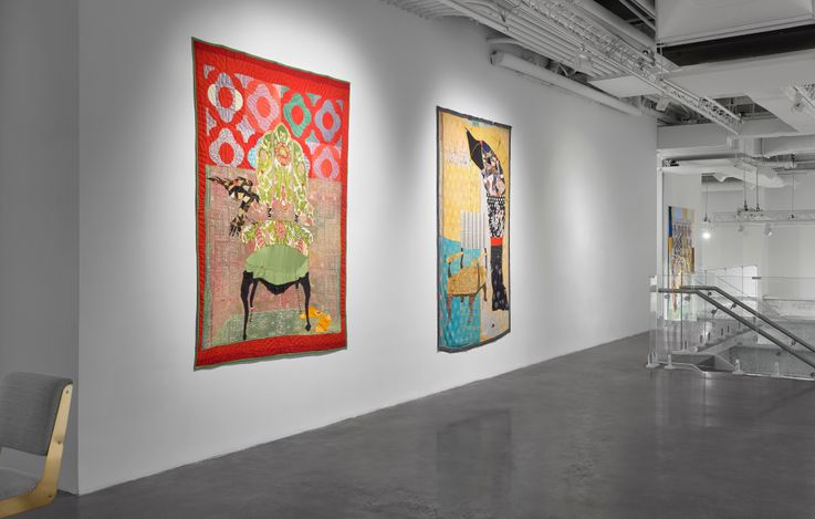 Exhibition view: Jesse Krimes, American Rendition, Malin Gallery, New York (17 November 2020–23 January 2021). Courtesy Malin Gallery.