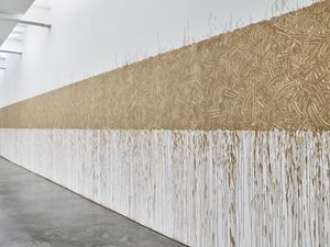 River Avon Mud Line by Richard Long contemporary artwork