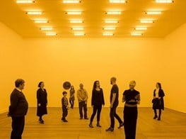 Olafur Eliasson on how his light installation at the National Gallery changes perceptions—in more ways than one
